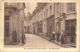 CPA Chateau-du-Loir Rue Marchande - Chateau Du Loir