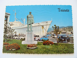 TRIESTE  T / N CRISTOFORO COLOMBO     NAVE  PIROSCAFO    VIAGGIATA - Trieste