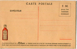 FANTAISIE  - PUBLICITE : Pharmacie - Fortifiant LA FRILEUSE ( Carte F.M. ) - Publicidad