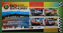 AUSTRALIE - Bloc Feuillet Neuf **: Voitures Rallye Course -  4 Timbres - Blocks & Kleinbögen