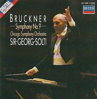 Cd  BRUCKNER  Symphonie N°9   Sir Georg Solti   :  Etat: Très Très Bon : - Classica