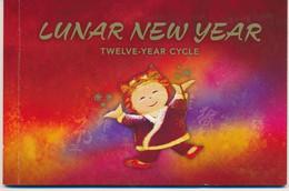 "ED-369: AUSTALIE : Lot Avec Carnet De Prestige ""Lunar New Year"" - Markenheftchen"