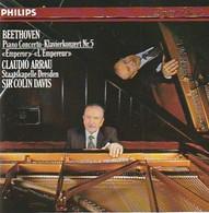 """Cd  BEETHOVEN   Piano Concerto """" L'empereur """"  CLAUDIO ARRAU   Et SIR COLIN DAVIDS    :  Etat: Très Très Bon : - Classica"""