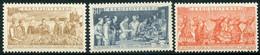CZECHOSLOVAKIA 1954 Czech-Soviet Friendship Month MNH / **.  Michel 878-80 - Unused Stamps