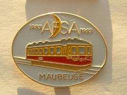 PIN'S TRAIN - AFSA MAUBEUGE - Transportation
