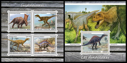 TOGO 2021 - Dinosaurs. M/S + S/S. Official Issue [TG210314] - Preistorici