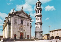 URGNANO (BERGAMO) CARTOLINA - PIAZZA DELLA CHIESA - Bergamo