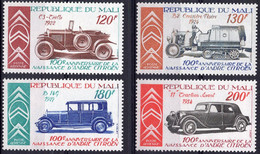 MALI :1978: Y.LP/PA 328-31*** Postfris/neufs/MNH : AUTO,CAR,VOITURE,VETERAN CAR,OLDTIMER,A. CITROËN. - Automobili
