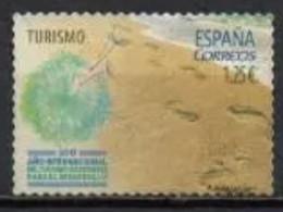 ESPAGNE SPANIEN SPAIN ESPAÑA 2017 SUSTANABLE TURISME: BEACH PLAYA USED ED 5114 YT 4829 MI 5124 SC 4175 SG 5104 - 2011-... Usati