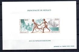 X-2 Monaco Bloc Spécial N° 16a ** Côte 270 Euros. A Saisir !!! - Collections (with Albums)