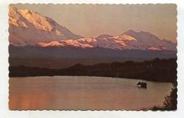 AK 04053 CANADA - Cow Moose On Lake At Sunrise - Modern Cards