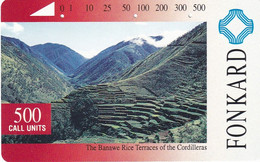 PHILIPPINES(Tamura) - The Banawe Rices Terraces Of The Cordilleras(500 Units), Used - Landscapes