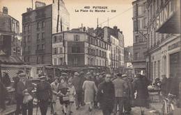 92 :  Puteaux  :  Place Du Marché   ///  Ref.  Oct.  21 // N° 17.521 - Puteaux