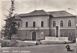 NEMBRO (BERGAMO) CARTOLINA - SCUOLE E MONUMENTO - Bergamo