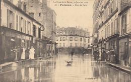 92 :  Puteaux  :  Rue  De Paris , Crue De La Seine       ///  Ref.  Oct.  21 // N° 17.526 - Puteaux