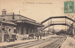 92 :  Puteaux  :  La Gare        ///  Ref.  Oct.  21 // N° 17.531 - Puteaux