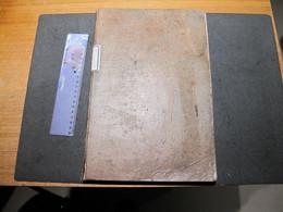 EMINES LEZ NAMUR-THEOPHILE ARTOISENET-DCD 81-BOURGMESTRE DE LA COMMUNE ET MARCHAND DE GRAINS-REGISTRE ETC..VOIR SCANS - Manuscripts