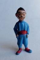 FIGURINE PUBLICITAIRE ESSO France Peinte -Tintin - NIKO (4) - Tintin