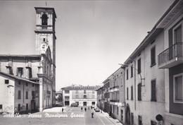 VERDELLO (BERGAMO) CARTOLINA - PIAZZA MONSIGNOR GRASSI - Bergamo