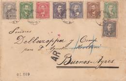 LETTRE. PARAGUAY. 18 8 1890. ASUNCION POUR BUENO_AIRESS - Paraguay