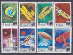 1971 Manama 505-512 Apollo 11 / Aviation 5,00 € - Asia