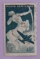 """FRANCE YT PA 16 OBLITÉRÉ """"SAGITTAIRE"""" ANNÉES 1946/1947 - 1927-1959 Afgestempeld"""