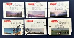 Denmark - FRAMA ATM, COLLECTION USED (lot 2) - Briefe U. Dokumente