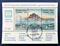 Denmark, Greenland GRØNLAND 1987, HAFNIA 87 - Ohne Zuordnung