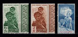 Nouvelle Calédonie - Poste Aerienne YV PA 36 à 38 N** Protection De L'enfance Et Quinzaine Impériale Cote 6+ Euros - Ungebraucht