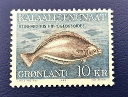 Denmark, Greenland GRØNLAND, 1985, Mint Hellefisk - Ungebraucht
