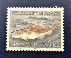 Denmark, Greenland GRØNLAND, 1981, Mint Torsk - Ungebraucht