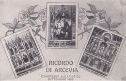 RICORDO DI ARCEVIA - ANCONA - 3 VEDUTE - CONGRESSO EUCARISTICO SETTEMBRE 1928 - Ancona