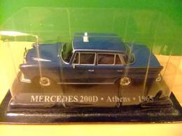 MERCEDES 200D TAXI De ATENAS 1965 - Altri