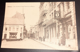 Carte Postale  Chimay , Rue Rogier , Grand Place - Chimay
