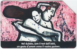 ITALY D-645 Magnetic SIP - Health, AIDS Exp. 30.06.99 - Used - Pubbliche Ordinarie