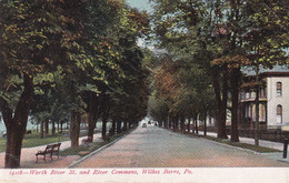 WILKES BARRE, Pennsylvania, PU-1909; Worth River St. And River Commons - Other