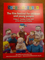 CARTE FILM FESTIVAL FOR CHILDREN AND YOUNG PEOPLE SHEFFIELD ANGLETERRE 2003 - Plakate Auf Karten