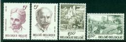 BELGIUM 1976 Mi 1880-83** Culture [L3762] - Non Classificati