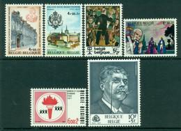 BELGIUM 1977 Mi 1895-1900** Culture [L3764] - Non Classificati