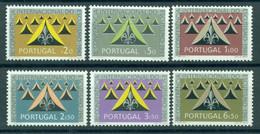 PORTUGAL 1962 Mi 917-22** Scouting [L3791] - Unused Stamps