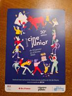 CARTE FESTIVAL CINÉ JUNIOR 30E EDITION - Plakate Auf Karten