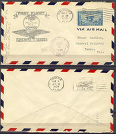 Mar 1, 1929 - First Fly Atlanta Miami - Event Covers