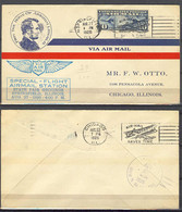 Aug 27, 1926 - Special Flight Springfield, Ill - Event Covers