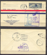 First Flight - 1928 Chicago S. Francisco C18 - Event Covers