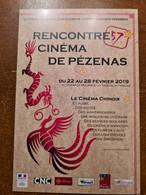 CP 57E RENCONTRE CINEMA DE PEZENAS 2019 - Plakate Auf Karten
