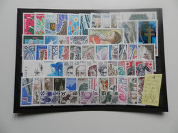 FRANCE ANNEE COMPLETE 1977 SOIT 53 TIMBRES NEUFS SANS CHARNIERE NI TRACE 1ER CHOIX - 1970-1979