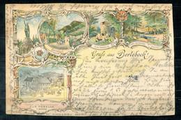F1317 - Color-Litho Im Vorläuferstil Aus BERLEBECK - 1901 Von DETMOLD Nach SPRINGE - Siehe Scans - Detmold