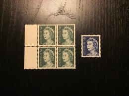 Australia Y&T 321 *4 & 323A ** / MNH - Mint Stamps