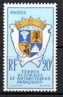 Col24 Taaf Terres Australes N° 15 Neuf XX MNH  Cote 33,00 Euro - Ongebruikt