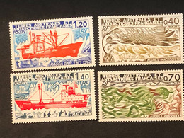 TAAF Timbres 66 67 68 Et 69 Neuf Sans Charnière, Cote 9€ - Ongebruikt